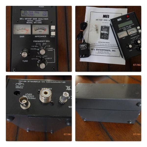 eHam net Classifieds MFJ-259C Antenna Analyzer like new