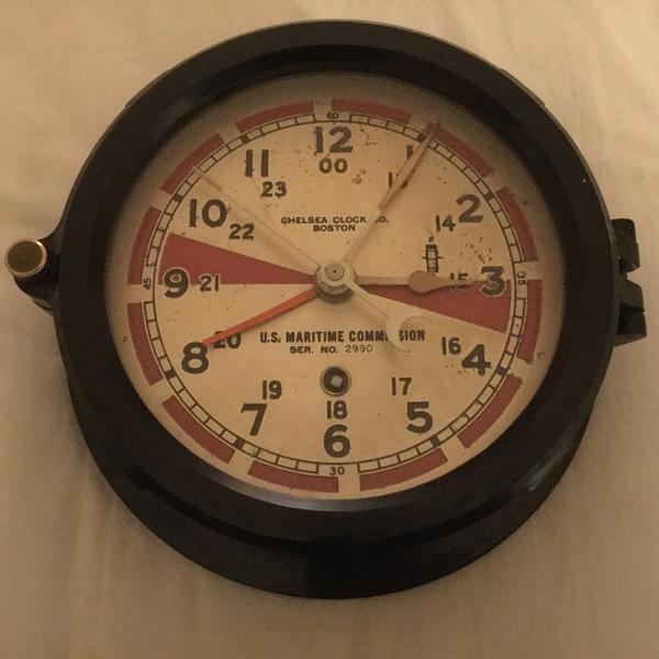 eHam net Classifieds Real Ship's Radio Room Clock